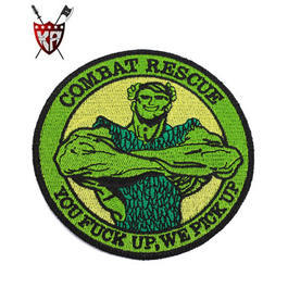 King Arms PJ Combat Rescue Patch oliv
