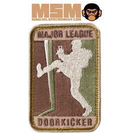 Mil-Spec Monkey Major League Doorkicker Patch Arid Large