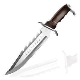 Herbertz - Mega Bowie Messer mit Sägezahnung