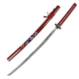 Schwert Red Dragon Samurai