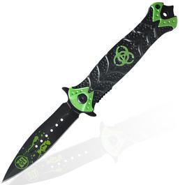 Taschenmesser - Haller Taschenmesser Stiletto Zombie Dead