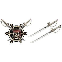 Messer - Tole 10 Imperial Schwerter-Set Piraten mit Wandhalterung