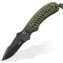 Fahrtenmesser - CRKT Fahrtenmesser Thunder Strike oliv