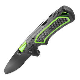 Gerber Einhandmesser Freescape Folding Knife schwarz/gr�n