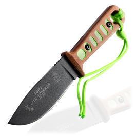 Fahrtenmesser - Tops Knives Fahrtenmesser Lite Trekker TLT-01 braun/grün inkl. Kydexscheide