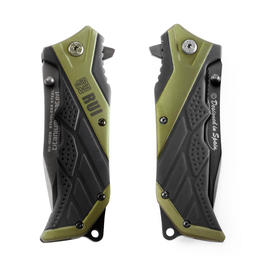 Rui Einhandmesser Tactical Pocket Knife grün