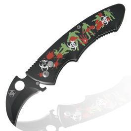 Einhandmesser - Haller Zombie Dead Springmesser