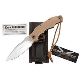 Pohl Force Einhandmesser Alpha Four Tactical Desert Limited Edition