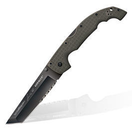 Cold Steel Einhandmesser Rawles Voyager XL Tanto Signierte Sonderedition