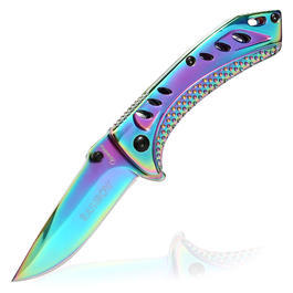 Einhandmesser Sharx rainbow
