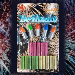 Signaleffekte - Brillant Feuerwerk-Sortiment20-teiligfür Schreckschusswaffen