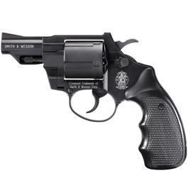 Schreckschußwaffen - S&W Combat M19, brüniert, Kunststoffgriff
