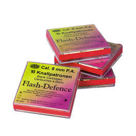 Wadie Flash Defence 9mm PAK Kugelblitzpatronen