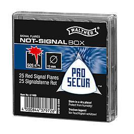 Umarex Waffen - Not-Signal-Box 25 Signalsterne für Schreckschusswaffen