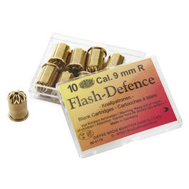 Flash Defence 9mm 10 St�ck f�r Revolver