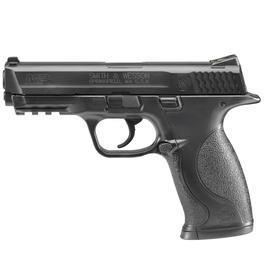 Luftpistolen - Smith&WessonM&P40 CO2 Luftpistole 4,5 mm BB brüniert Metallschlitten