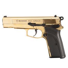 Signalmunition - Browning GPDA9 Schreckschuss Pistole 9mm P.A.K. gold finish
