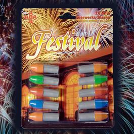 Signalmunition - ABA Festival Feuerwerkssterne Signaleffekte 10-teilig
