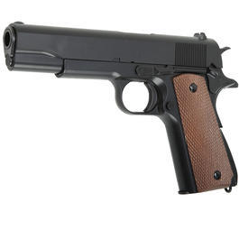 UHC M1911 A1 Softair Pistole 6mm BB Federdruck