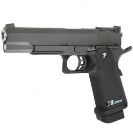 Wei ETech Hi-Capa 5.1 R-Type Vollmetall GBB 6mm BB Gunmetal-Grey