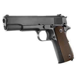 Softair Gun - Wei-ETech M1911A1 Vollmetall GBB 6mm BB schwarz