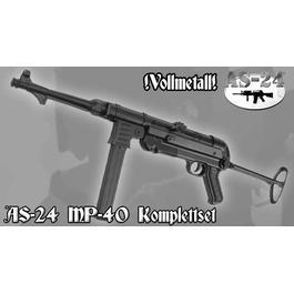 MP40 Softair, Metall Version, schwarz