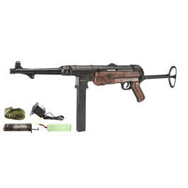 AGM MP40 Vollmetall Komplettset S-AEG 6mm BB braun
