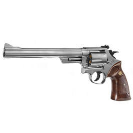 UHC M-29 8 Zoll Gas Softair Revolver 6mm BB nickel mit Hülsen