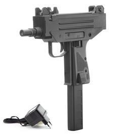 Softair ab 14 - Well Micro-Pistol Komplettset AEG 6mm BB schwarz