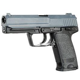 UHC USP .45 Heavy Weight Springer Softair Pistole 6mm BB schwarz