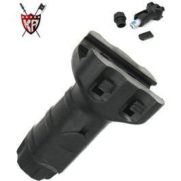 King Arms Vertical Frontgriff Shorty schwarz