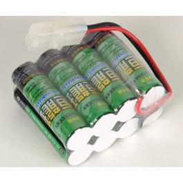 Akkupack 9.6V 750 mAh, Large Type, Quader
