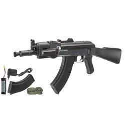 Softair AEG - Cybergun Kalashnikov AK47 Spetsnaz Komplettset S-AEG 6mm BB schwarz