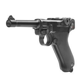 CO2 Zubehör - Wei ETech P08 Vollmetall GBB 6mm BB schwarz - 4 Zoll Version