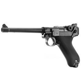 Wei-ETech P08 Vollmetall GBB 6mm BB schwarz - 6 Zoll Version