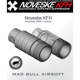 MadBull / Noveske KFH Amplifier Flash Hider schwarz