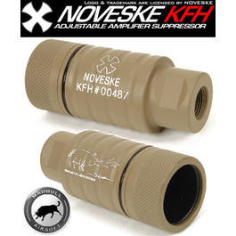 MadBull / Noveske KFH Amplifier Flash Hider desert / tan