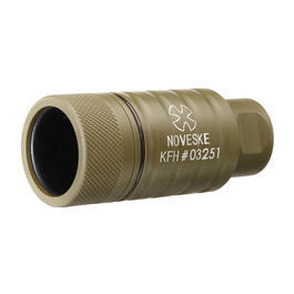 MadBull / Noveske KFH Aluminium Amplifier Flash-Hider Desert Tan 14mm-