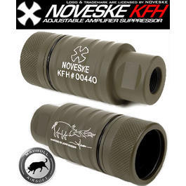 MadBull / Noveske KFH Amplifier Flash Hider oliv (OD)