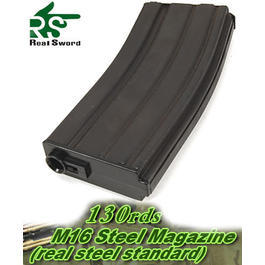 Real Sword M4 Stahl Magazin 130er