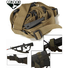 Condor Tactical 3-Punkt Tragegurt coyote