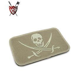 Bundeswehrartikel - King Arms Seal Team Embroidery Patch TAN