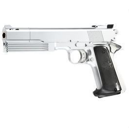 HFC M1911 Combat Commander Gas NBB Softairpistole 6mm BB silber