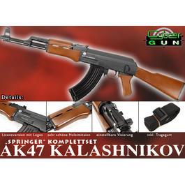 Softair ab 14 - Cybergun AK47 Full Stock Springer