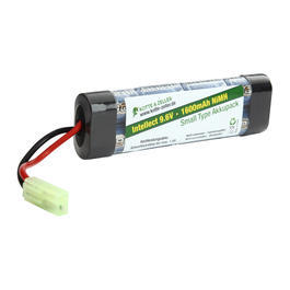Intellect Akku 9.6V 1600mAh Small-Type
