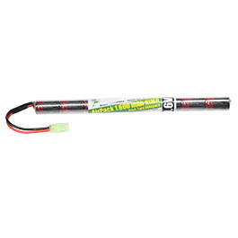Airsoft24 AirPack Akku 9.6V 1600mAh NiMH Stick-Type mit Mini-Tam Anschluss