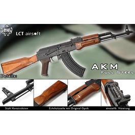 Softair ab 18 - LCT Airsoft AKM Full Steel S-AEG (Ver.2009)