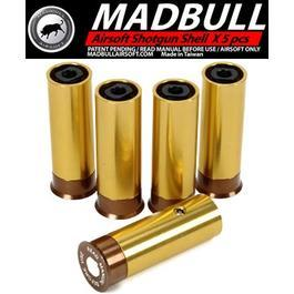 MadBull SS6 M870 Gas-Patronen - 6mm BB Version (5er Packung)