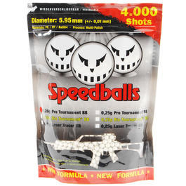 100% Speedballs Pro Tournament BBs 0,20g 4.000er Beutel weiss