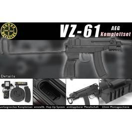 Wellfire R2 VZ61 Softair Komplettset AEG